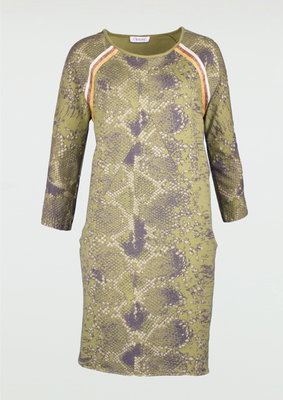Printed Jogger Dress