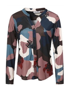 Geprinte blouse in PA